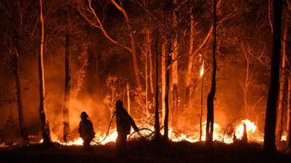 bushfires Australia 2020